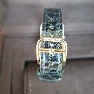"""Hermes Accessories - Hérmes Cape cod 23 mm """"18 CARAT GOLD"""" watch"""